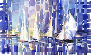 Boats On White